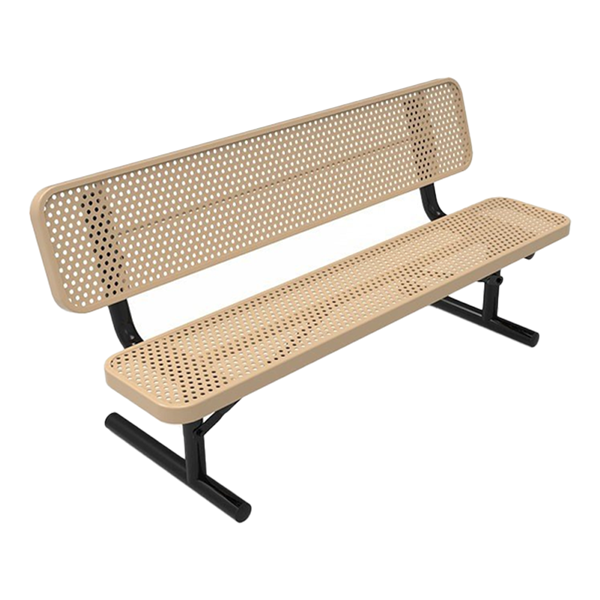 Perforated Steel - Tan - Portable