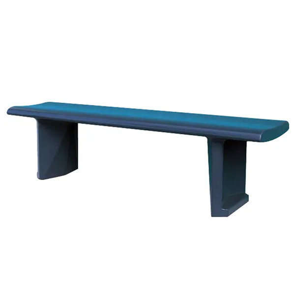 Riverside Concrete Bench without Back, 6 ft.
