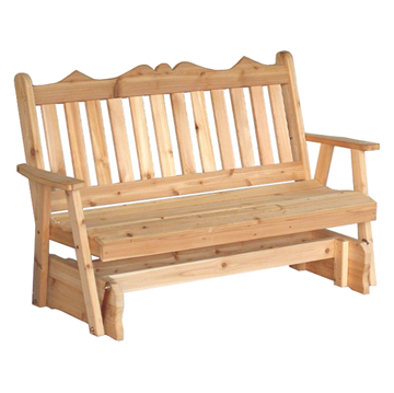 Royal English Wooden Glider Bench