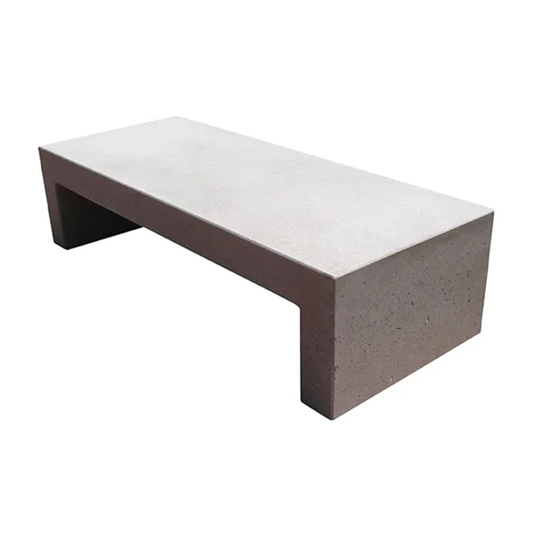 Toledo Concrete Bench without Back