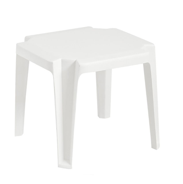 """17"""" x 17' Commercial Plastic Resin Miami Low Table"""