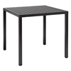 """31"""" Square Cube Plastic Resin Dining Table by Nardi"""