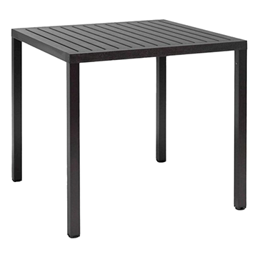 "31"" Square Cube Plastic Resin Dining Table by Nardi"