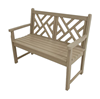 4 Ft. Chippendale Recycled Plastic Bench From Polywood