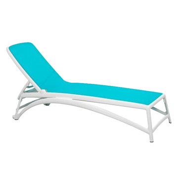 Atlantico Sling Plastic Resin Chaise Lounge