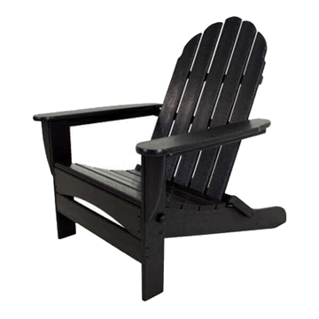 Classic Adirondack Oversized Recycled Plastic Patio Chair from Polywood