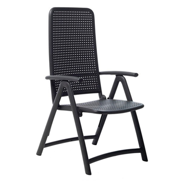 Darsena Plastic Resin Folding Chair