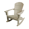 Seashell Recycled Plastic Rocker Chair From Polywood