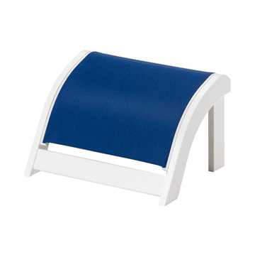 Telescope Adirondack Sling Ottoman with Marine Grade Polymer Frame