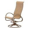 Telescope Aruba II High Back Sling Swivel Rocker Chair with Aluminum Frame