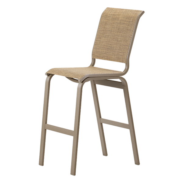 Telescope Aruba II Sling Bar Chair with Armless Aluminum Frame - Pack of 2