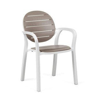 Palma Plastic Resin Stackable Dining Chair - 11.5 lbs.