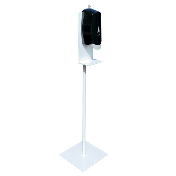 Hand Sanitizer Stand Station With Powder Coated Aluminum Frame