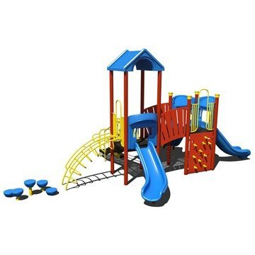 Passage Way Playground Equipment Made From Commercial Grade Steel - Ages 5 To 12 Years
