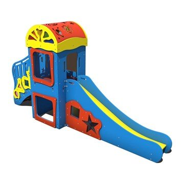 Ringmaster Playhouse Made From Commercial HDPE Plastic - Ages 6 To 24 Months