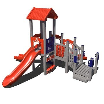 Urban Explorer Commercial Playground Set Made From Recycled Plastic - Ages 2 To 5 Years
