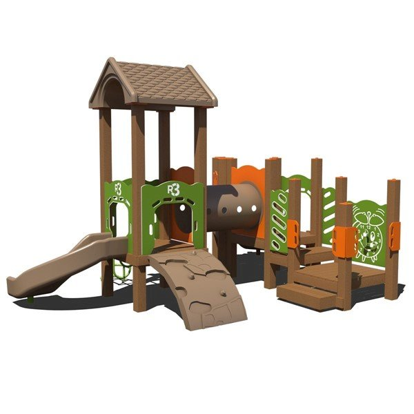 Mudbug Commercial Playset Made From Recycled Plastic - Ages 2 To 5 Years