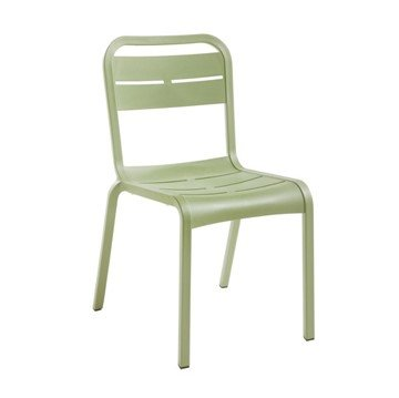 Cannes Armless Dining Chair with Stackable Commercial Frame - 8.5 lbs.
