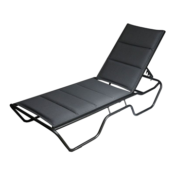 Dania Padded Sling Commercial Chaise Lounge