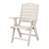Nautical Recycled Plastic Highback Dining Chair From Polywood