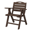 Nautical Recycled Plastic Lowback Dining Chair From Polywood