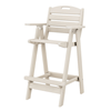 Nautical Recycled Plastic Bar Chair From Polywood