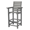 Captain Recycled Plastic Bar Chair From Polywood