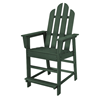 Long Island Recycled Plastic Patio Counter Chair from Polywood