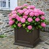 """Fairfield Commercial Square 28"""" x 28"""" Planter with Impact-Resistant Frame - 45 lbs."""