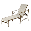 Tradewind Chaise Lounge - Commercial Aluminum Frame With Sling Fabric