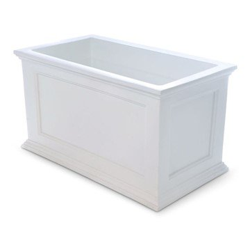 "Fairfield 20"" x 36"" Planter Box with Impact-Resistant Frame - 22 lbs."