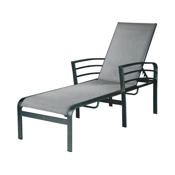 Skyway Sling Chaise Lounge With Powder Coated Aluminum Frame
