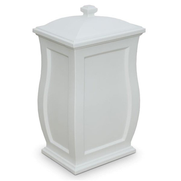 Mansfield Multipurpose 22-Gallon   Storage Bin with Polyethylene Frame and Removable Lid - 12 lbs.