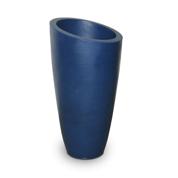 "Modesto Double-Wall 32"" Height Planter with  Polyethylene Frame - 9 lbs."