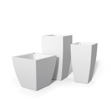 Kobi Planters Package of 3 with Polyethylene Frames