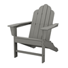 Long Island Adirondack Recycled Plastic Patio Chair From Polywood