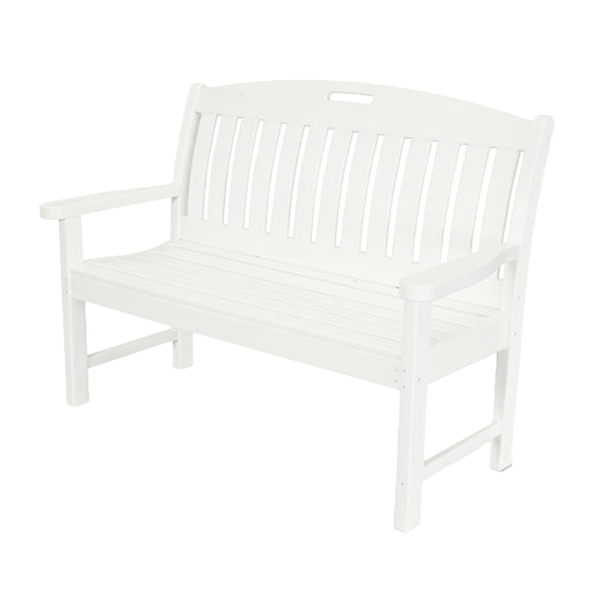 Nautical Recycled Plastic Bench From Polywood