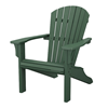 Seashell Adirondack Recycled Plastic Patio Chair from Polywood