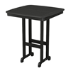 """37"""" Square Nautical Recycled Plastic Bar Table From Polywood"""