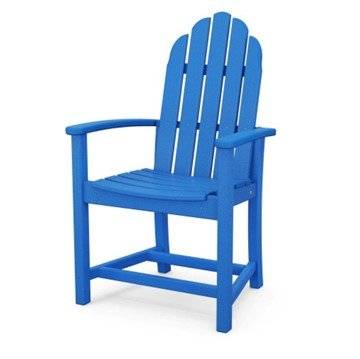 Adirondack Recycled Plastic Dining Chair From Polywood