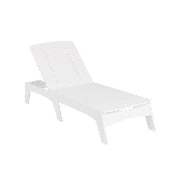 Mainstay High Density Polyethylene Chaise Lounge - 56 lbs.