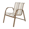 Anna Maria Dining Chair - Commercial Aluminum Frame with Sling Fabric