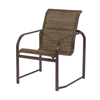 Monterey Dining Chair - Commercial Aluminum Frame With Sling Fabric