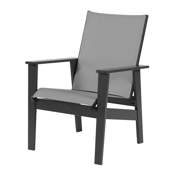 Sienna Sling Dining Chair With Marine Grade Polymer Frame