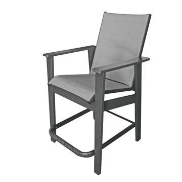 Sienna Sling Balcony Chair With Marine Grade Polymer Frame
