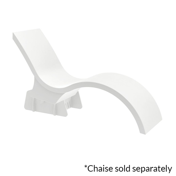 Ledge Lounger In-Pool Chaise Deep Lounge Riser