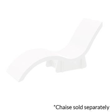 Ledge Lounger In-Pool Chaise Lounge Riser