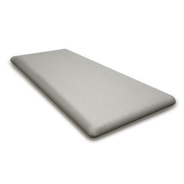 """Chippendale 48"""" Bench Seat Cushion Polywood - Tweed"""
