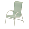 Ocean Breeze Dining Chair - Commercial Aluminum Frame With Sling Fabric_2