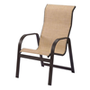 Cabo Chaise Lounge - Commercial Aluminum Frame With Sling Fabric